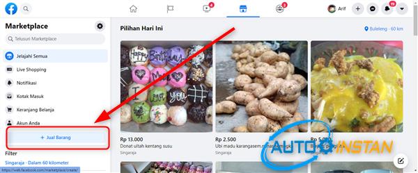 cara jualan di facebook marketplace agar banjir orderan
